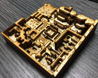 The Legend Of Zelda - A Link to the Past (ALTTP) Files for Laser Cutting