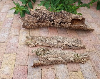 1 tubes +2 pieces  of 100% natural cork oak bark