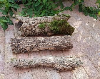 2 tubes +1 piece  of 100% natural cork oak bark