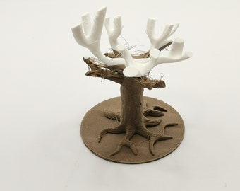 Tree figure in 3D printing