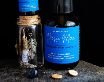 Anointing oil Mother Synergy Goddess with 9 essential oils 50ml or 15ml #rituels #soinducorps #huilesessentielles #sorcière #chakras