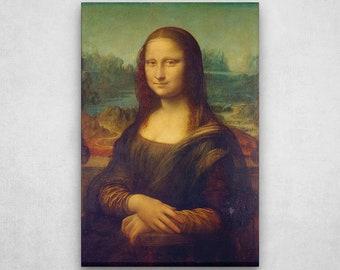 Painting on canvas, reproduction Mona Lisa Leonardo da Vinci