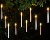 Box of 10 magic floating battery operated flameless candles with remote control, Harry Potter floating candles