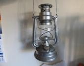 Vintage oil lamp,paraffin lantern MEVA 864,nice collectible,hanging outdoor kerosene lamp,made in Czechoslovakia 60s,decor,collection,gift