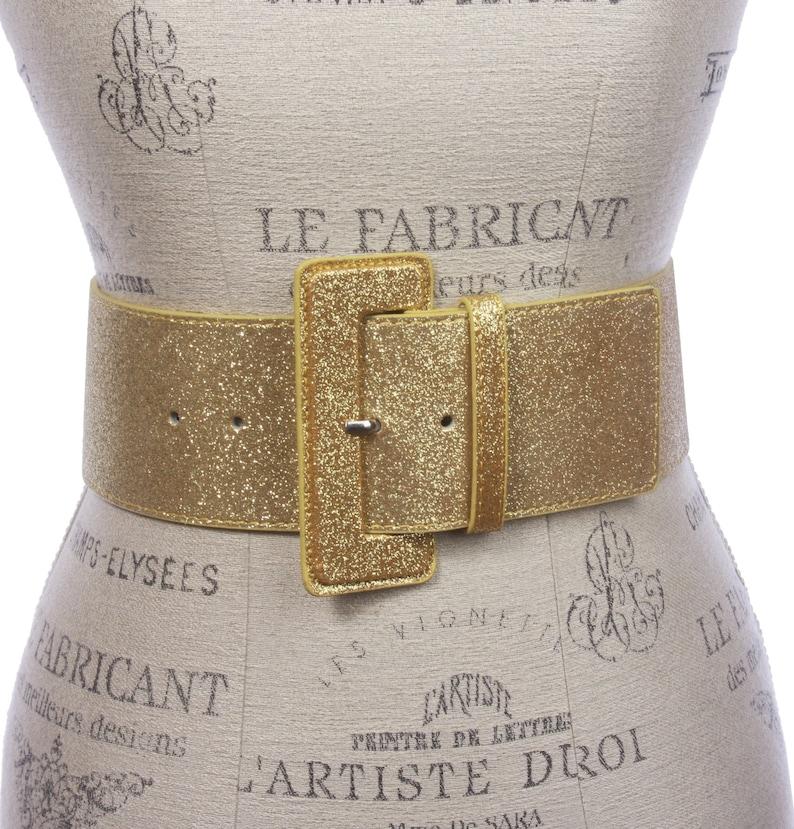 Vintage Wide Belts, Cinch Belts, Skinny 50s Belts 3