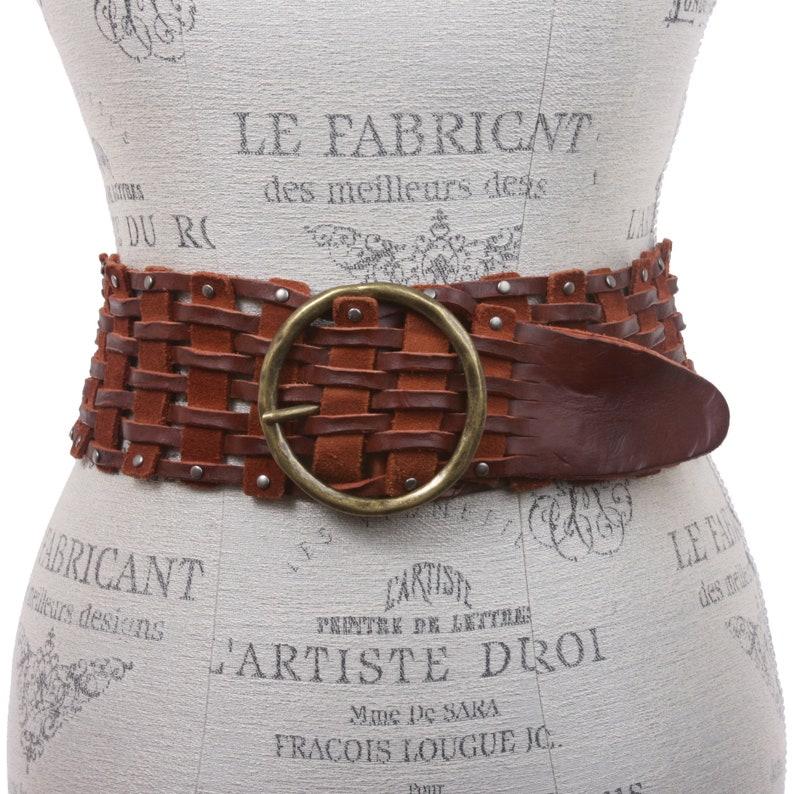Vintage Wide Belts, Cinch Belts, Skinny 50s Belts Womens 3