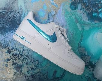 glitter nike scarpe