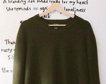 Vintage Men's Lambswool Sweater