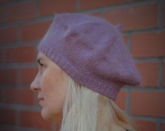 Tomorrow Apariencia Women/'s Angora Wool Knit Beret Hat