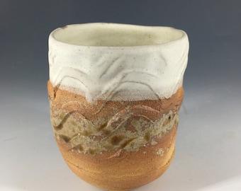 Teacup / Coffee Cup / Tea Bowl / Beaker. Ceramic Stoneware - Handmade Wheel Thrown Pottery