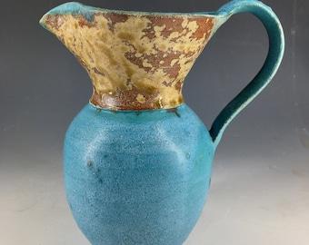 Jug / Vase / Pitcher. Hand thrown Stoneware Ceramic.