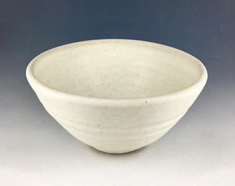Cereal Bowl - Ceramic Stoneware - Handmade Studio Pottery