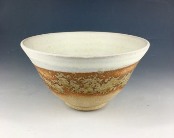 Cereal Bowl / Soup Bowl. Ceramic Stoneware. Handmade Studio Pottery