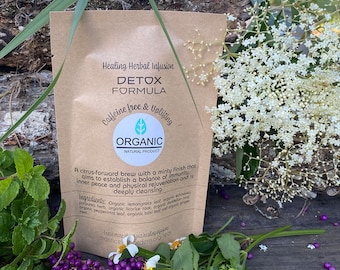 Detox Organic herbal tea. Detoxifying and cleansing. Important during weight loss.