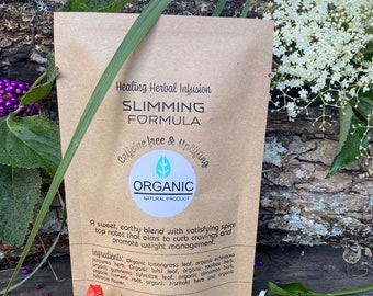 Slimming Organic herbal tea for weight loss.