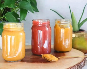 Buy 2 Get 1 Free!!!  Dr. Sebi Inspired 100% Organic Fresh Fruit Infused Irish Sea Moss Gel