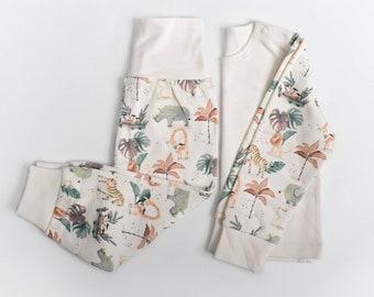 Safari lounge set pyjamas personalised, Stacey solomon inspired