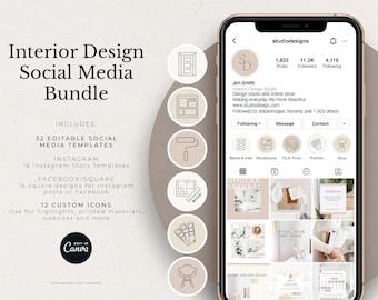 Interior Design Social Media Bundle