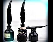 Quill Ink Pot Eyeliner buy 1 get 1 Free Super Black Matte Liquid Eyeliner long lasting Vegan Waterproof quality eyeliner