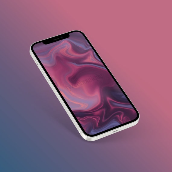 4k Purple Pastel Marble Smartphone Wallpaper Iphone Etsy