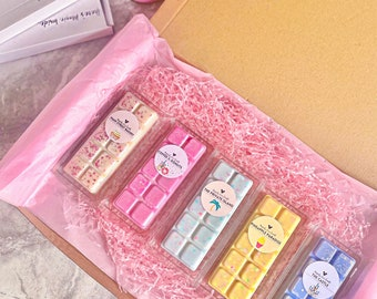 DISNEY inspired wax melt snap bars Disney parks vegan and cruelty free soy wax highly scented large gift box