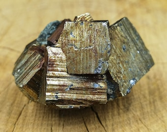 RAW PYRITE  |  Strong Protection Stone | Shields the wearer from Negative Energy and Evil | Aids in overcoming Fear, Bad habits, Anxiety