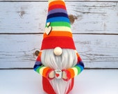 Nordic gnome - Scandinavain gnome - Tomte - rainbow gnome - summer gnome - home decoration - fun gift
