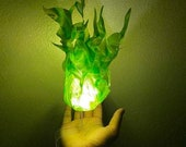 Halloween Cosplay Floating Fireball Flame Hand Prop