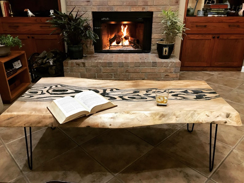 Epoxy Resin Wood Table Top