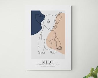 Personalised Pet Portrait | Custom Pet Portrait | Pet Illustration | Dog Portrait | Digital Pet Drawing | Cat Portrait | Personalized Gift