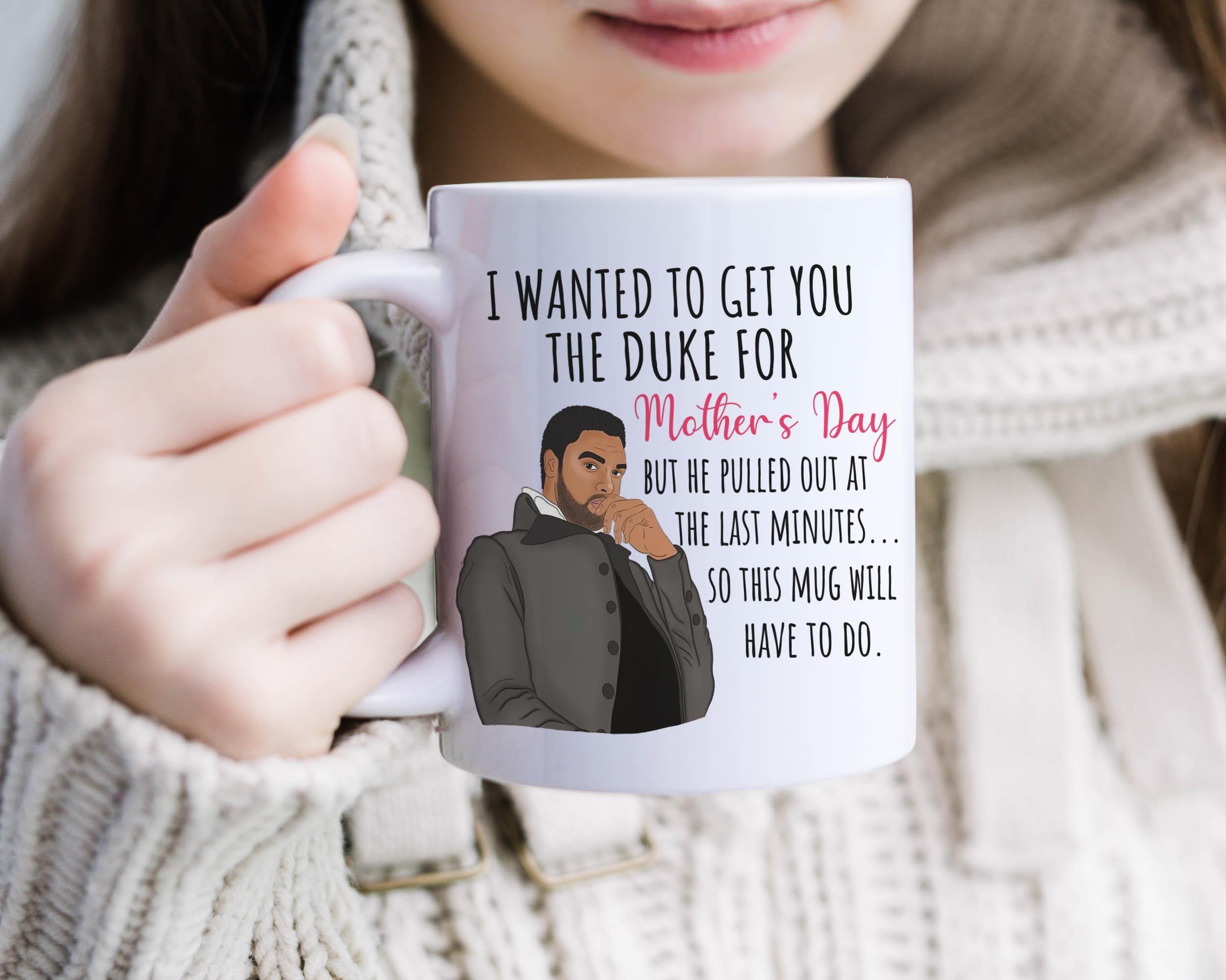 Ich wollte Sie den Herzog für Muttertag zu bekommen aber