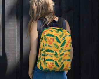 Brazilian Yeloow Backpack