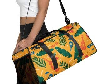 Brazilian Yellow Duffle bag