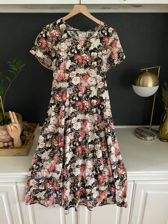 90S DRESS Vintage 90s dress, cottage core aestheti