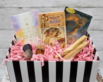 Tarot | Oracle Mystery Box | Travel Size Decks | NO Handbook