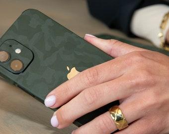 iPhone skins, Camouflage Groen & Zwart