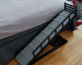 Pet Ramp with Foldable Rails |  Extra Front Rail