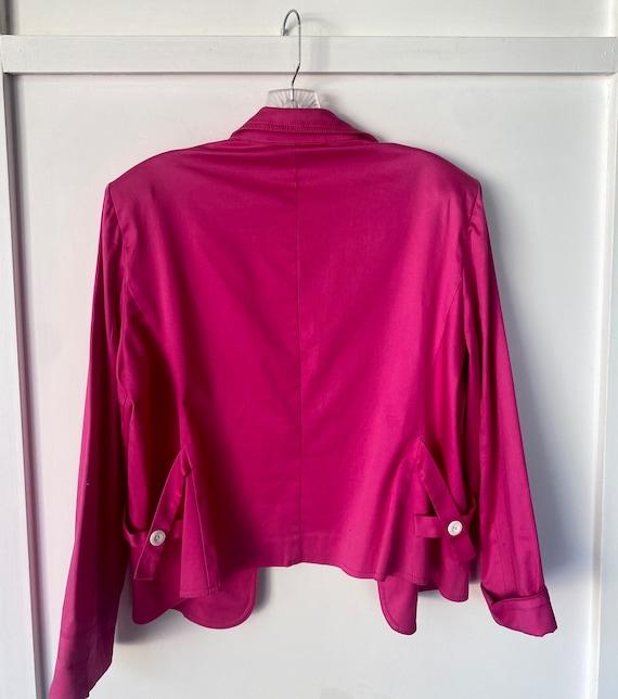 Vintage Hot Pink Blazer - image 1