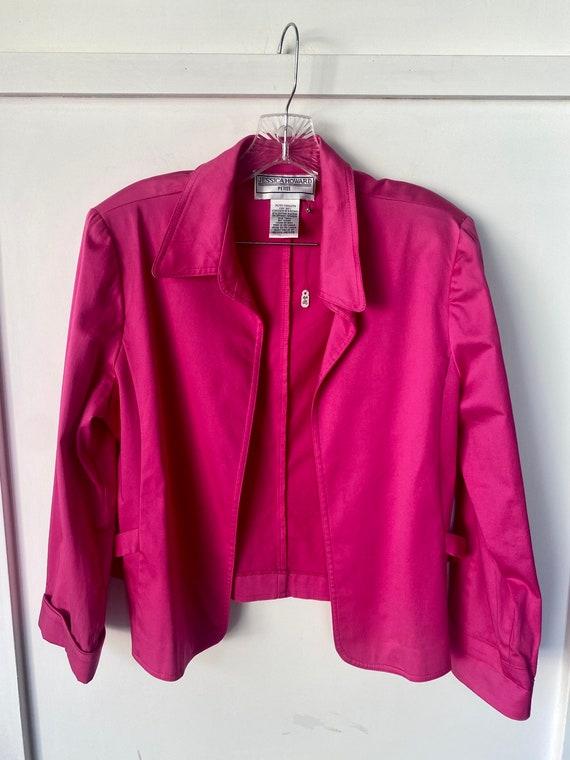 Vintage Hot Pink Blazer - image 2