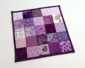 Small doily, coasters, mug rags and patchwork placemats