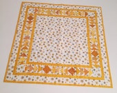 Square patchwork tablecloths middle ceilings