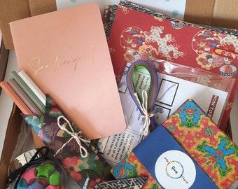 Quarantine gift box   Hope in a box   Origami DIY gift   Teacher gift box   Birthday gift box   Gift for her   Best friend gift box