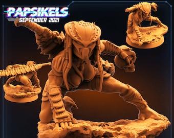 Vixen Skullhunter Scar Let Shakira Masked | Monster Alien  Scifi Miniature, D&D, Wargames, Starfinder, Shadowrun, Stargrave | Papsikels
