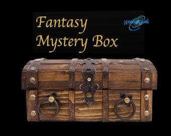 Fantasy Mystery Box | Heroes, Monsters | 32mm/ 28mm Fantasy Miniature, D&D, Wargames, Dungeons and Dragons, Pathfinder, Frostgrave
