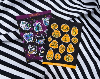 Spooky Sticker Sheets