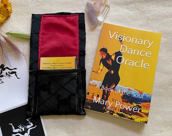 Complete Visionary Dance Oracle Set: Visionary Dance Oracle, A Book of the Soul, with Oracle Cards in Fabric Envelope