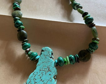 Triple Guardian of the Green, Healing Power Necklace