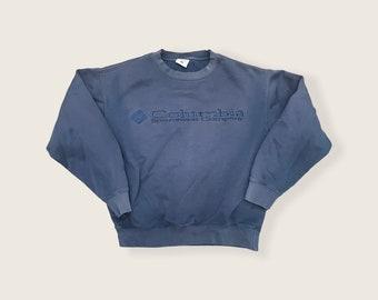 Columbia Heavyweight Stitched Vintage Crewneck Sweater