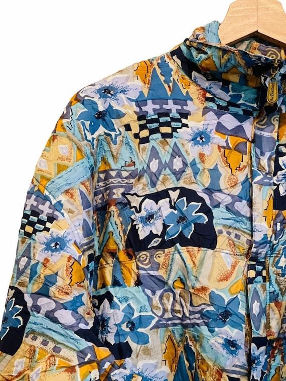 Vintage Silk Bomber Jacket - image 2