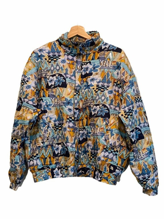 Vintage Silk Bomber Jacket - image 1